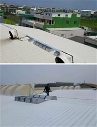 讚陞自然通風散熱器、鐵皮屋降溫施工