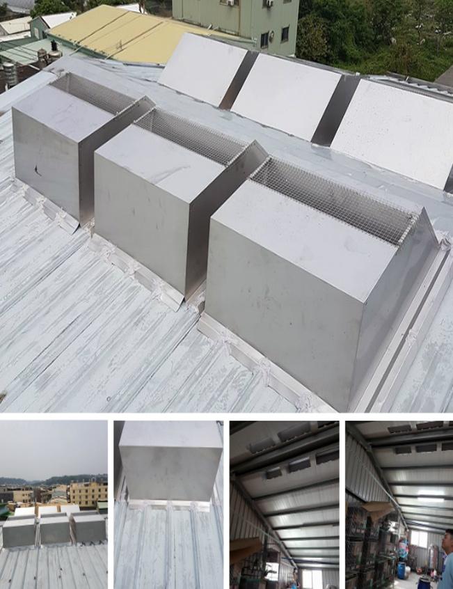 免電力屋頂通風散熱器、廚房悶熱改善