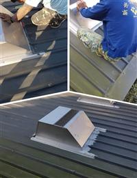 屋頂散熱通風、屋頂自然通風散熱器