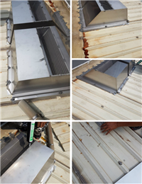 自然通風散熱器、不鏽鋼鐵皮屋採光散熱器