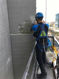 社區大樓磁磚修補