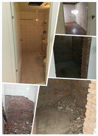 浴室打石拆除工程