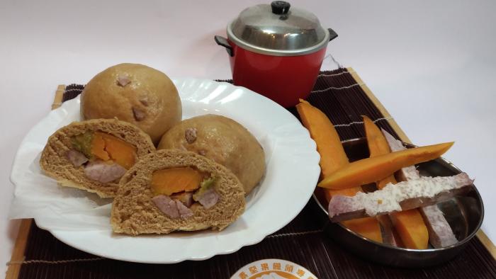 地瓜芋頭饅頭