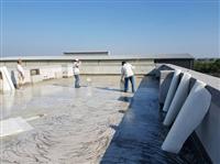 聚脂纖維防水布施作