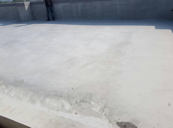 FRP屋頂防水完工