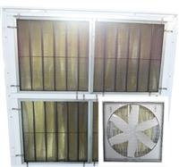 54吋四角網片型正壓式風扇(附袋式濾網)