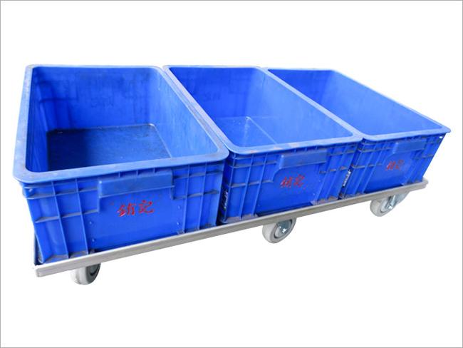 物流台車(小塑膠籃x3) 04-7614042