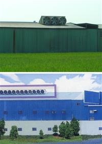 屋頂式抽風機、屋頂排風機