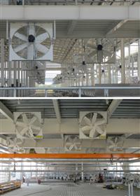 懸掛式抽風機、懸掛式通風機