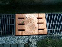 防蚊水溝蓋底板、新型防蚊無障礙之水溝蓋