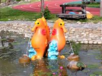 噴水池造型FRP雕塑