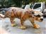 雲豹FRP玻璃纖維雕塑