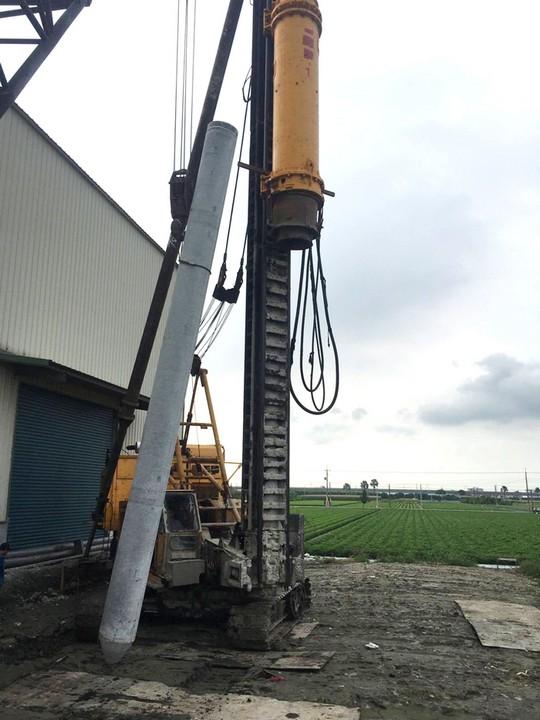 油壓樁槌施工