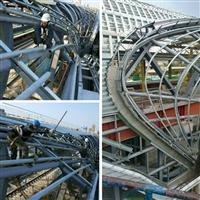 台鐵531松竹站-鋼骨結構加工