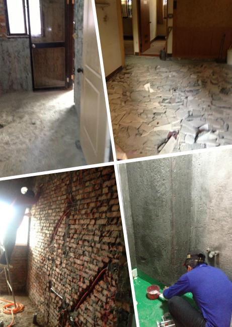 舊屋翻新、泥做、拆除工程