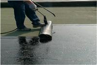屋頂防水工程-防水毯施工中