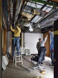 拆除天花板工程
