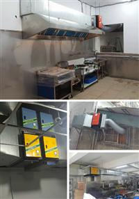 靜電處理機、餐飲廚房排油煙設備