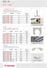 硬管工程-管夾、 配