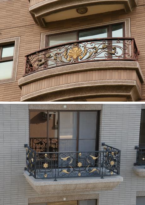 鋁鎂合金鍛造陽台欄杆