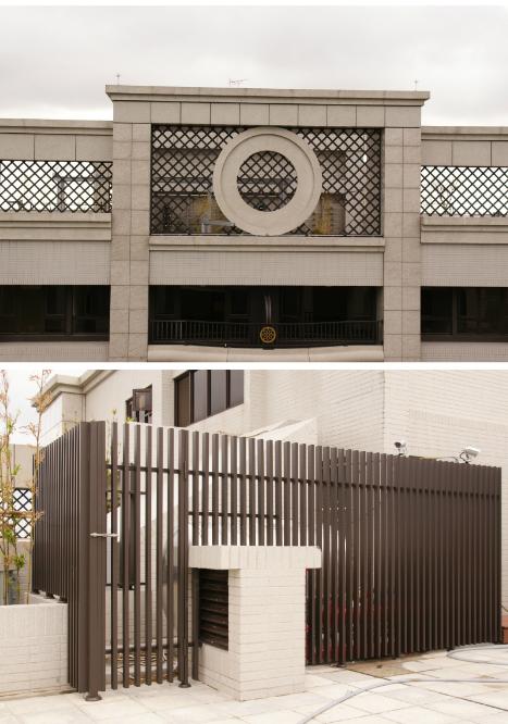 鋁鎂合金鍛造格柵外牆/大樓格柵