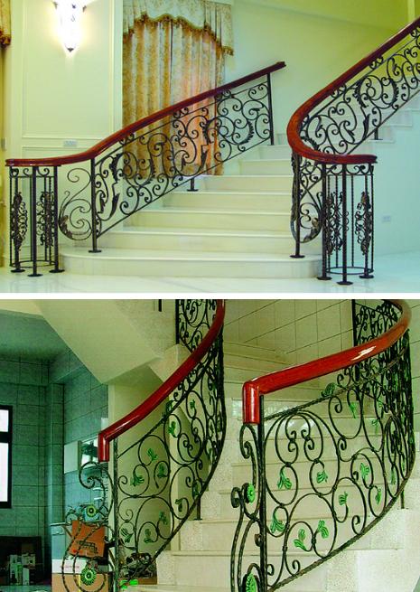 鋁鎂合金鍛造樓梯扶手