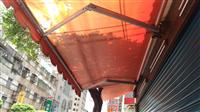 30帆布遮雨棚、伸縮帆布