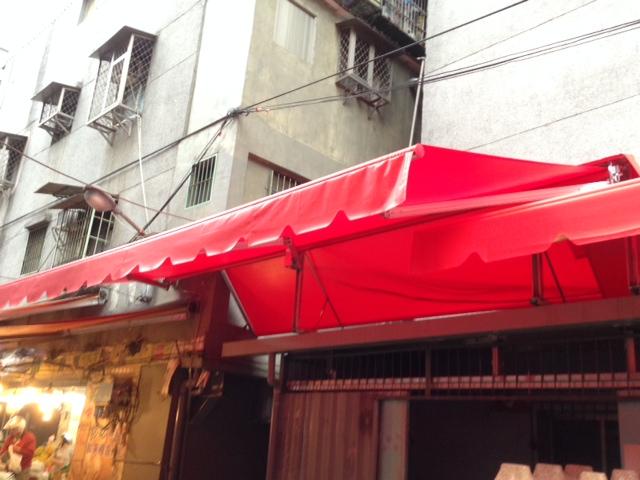 26梯型雨棚、遮陽雨棚