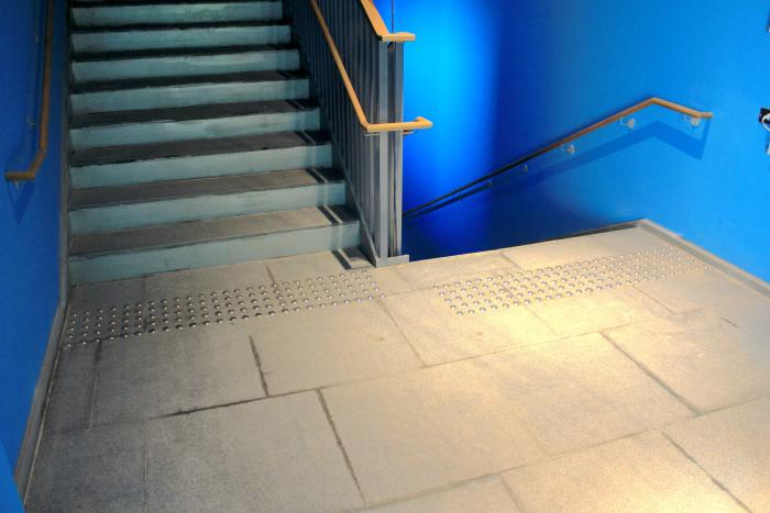 不銹鋼導盲警示定位磚