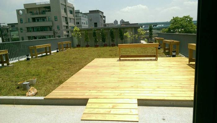 戶外南方松實木地板