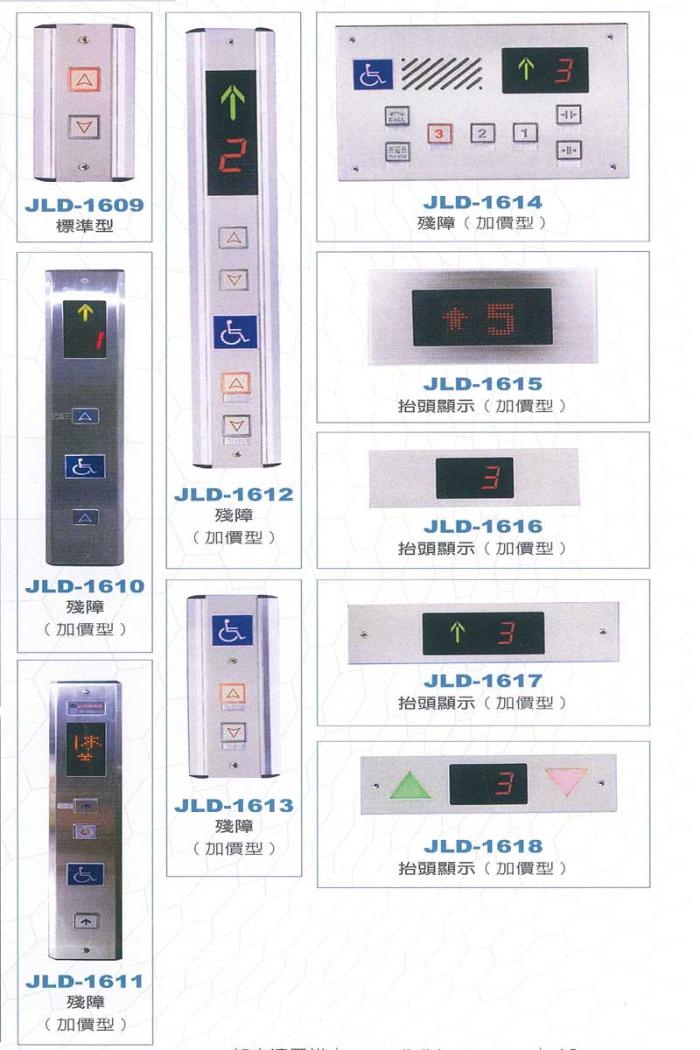 乘廂/乘場按鈕指示器