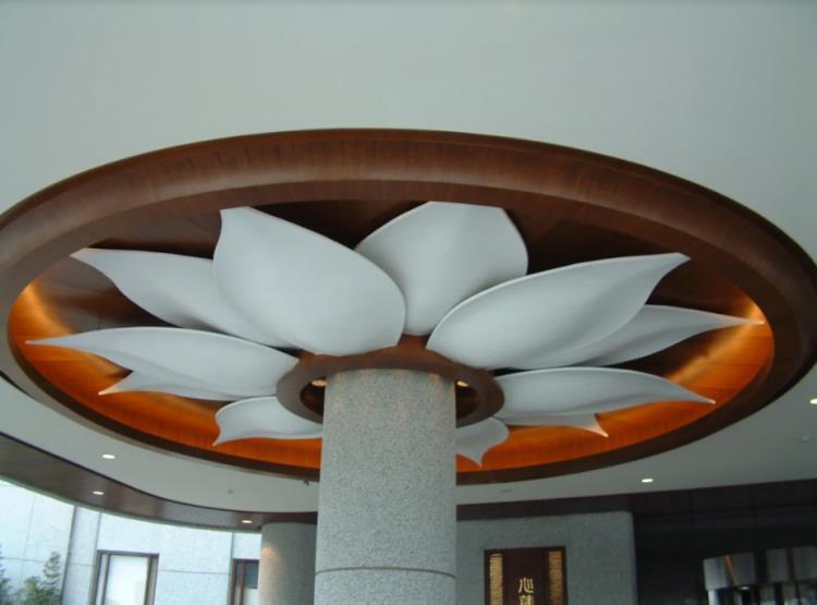 半室外(騎樓)立體GRG造型天花