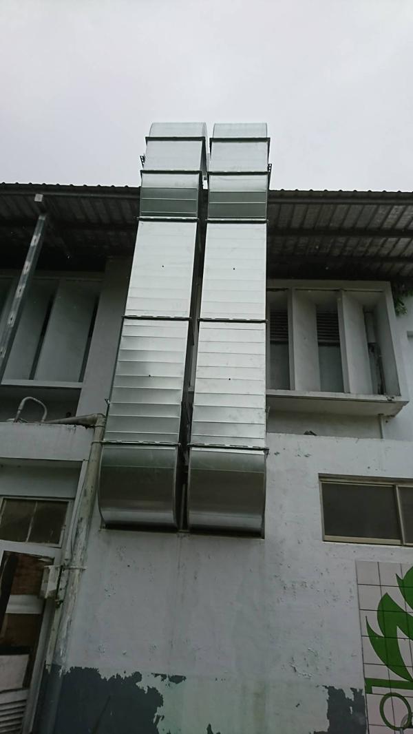 空調風管工程、排煙風管