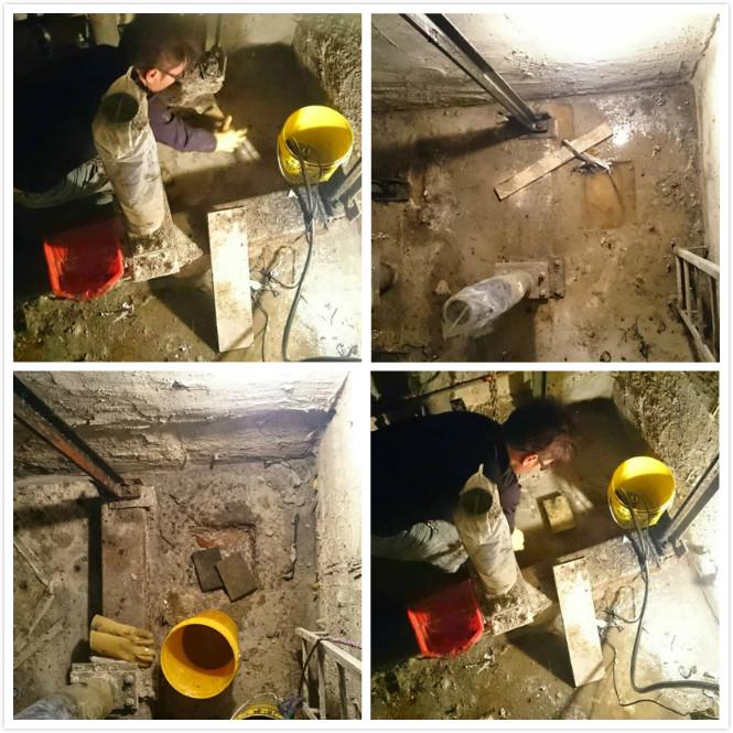電梯機坑漏水高壓灌注止漏