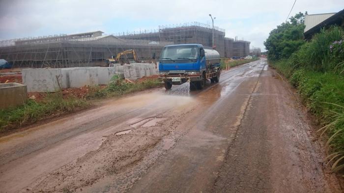 高壓水車道路清洗