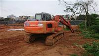 挖土機施作工程