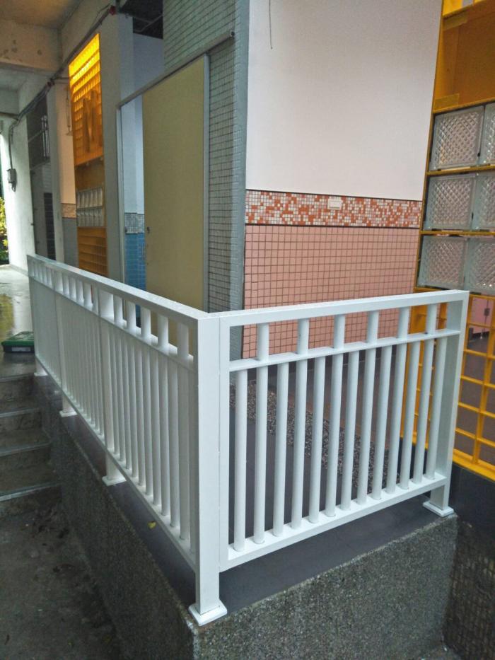 造型烤漆護欄