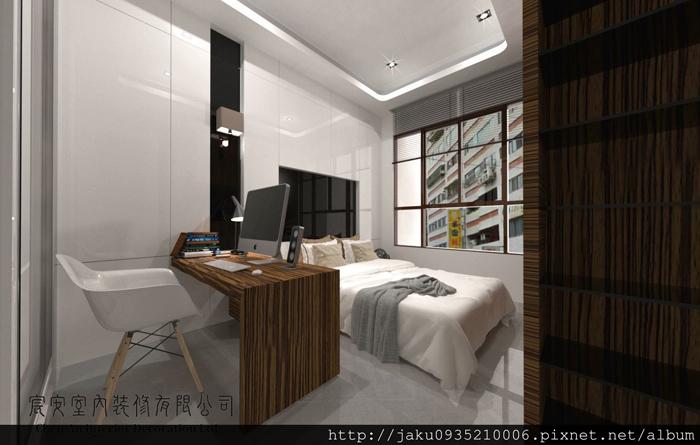 臥房3D規劃設計