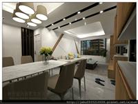 客廳3D規劃設計