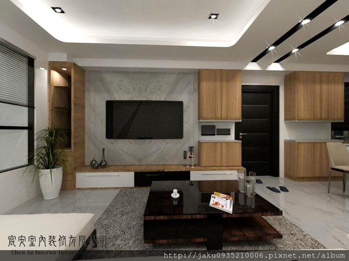客廳3D規劃