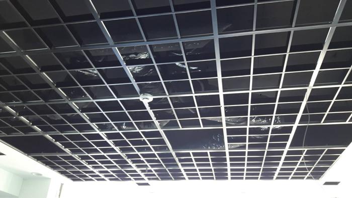 鋁格柵天花板