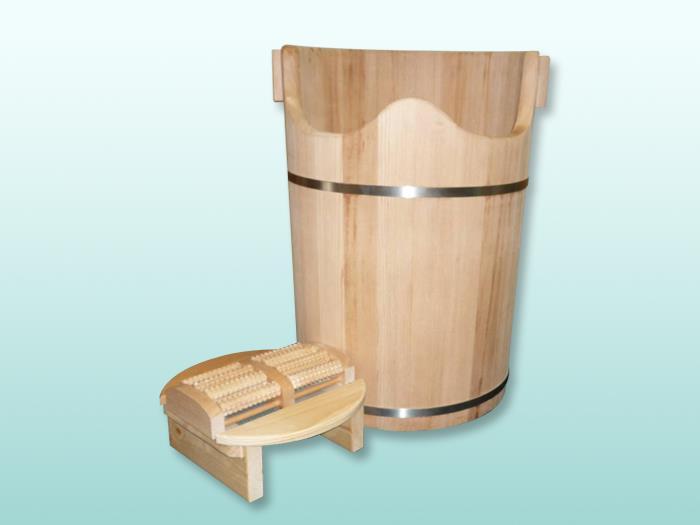 寮國檜木薰蒸桶