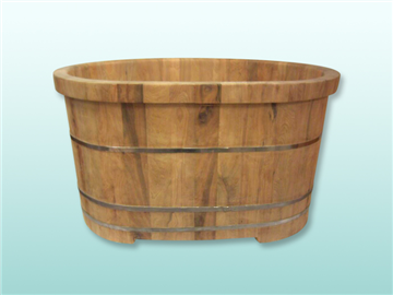 檀香木泡澡桶