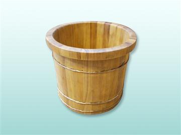 檀香木泡腳桶