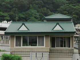 東山高中-屋頂琉璃彩鋼瓦