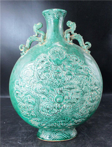 龍紋青瓷窯