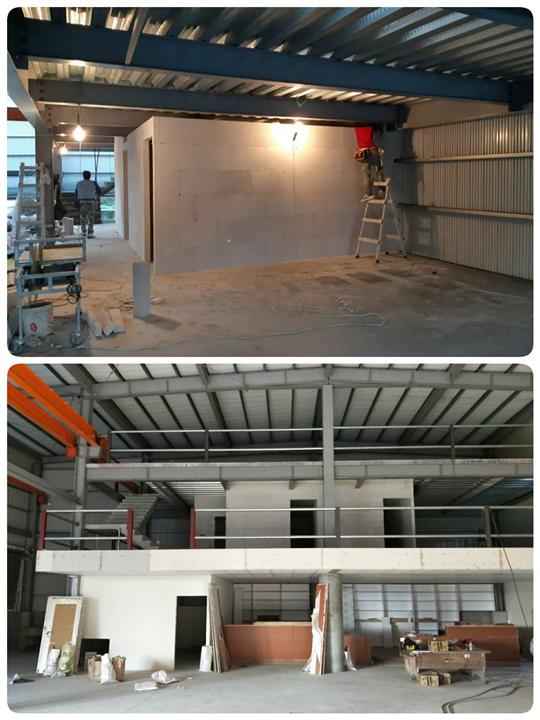麻豆-鋼構廠房隔間