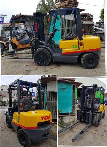 TCM 700型3.0噸二節貨櫃手排車