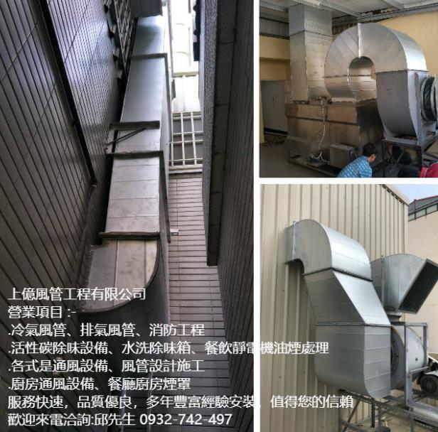 高雄風管、冷氣風管、風管訂做、排氣風管