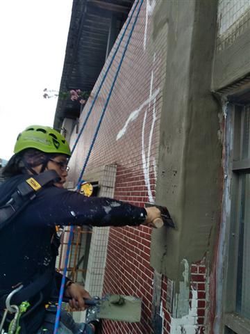 大樓外牆修繕